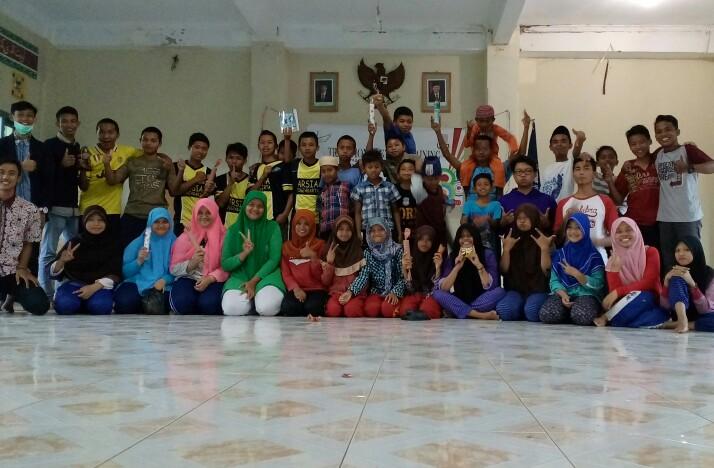 Kunjungan Masiswa UIN Sunan Kali Jaga ke panti asuhan Al hakim Sinar Melati Yogyakarta